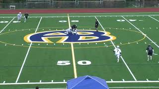 Acton Boxborough Varsity Boys Lacrosse vs Weston 4/27/18