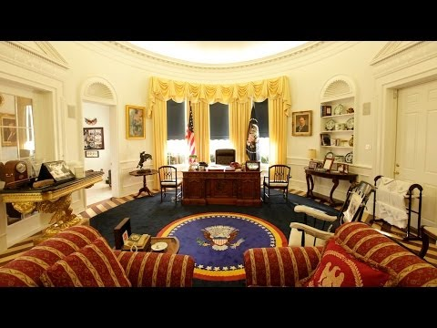 Oval Office In My Home: Ron Wade And His Presidential Memorabilia