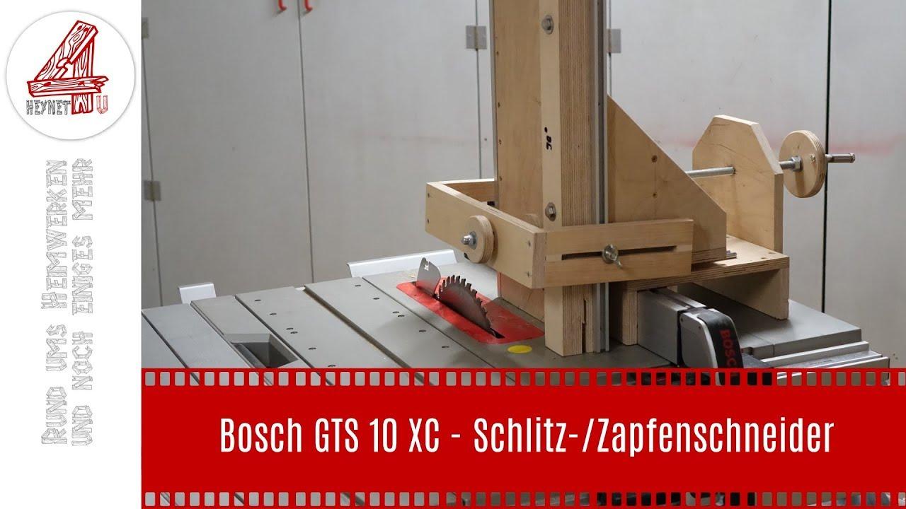 Bosch GTS 10 XC - Schlitz- und Zapfenschneider (Tenon Jig ...