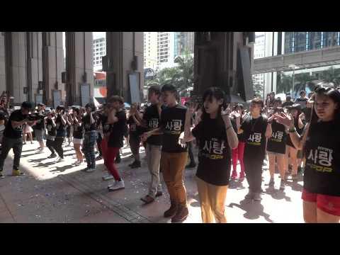 120701 Malaysia K-POP Flashmob Encore