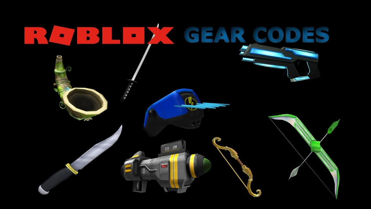 Codes for roblox gears over 100 gear codes for roblox - Roblox Gear Codes