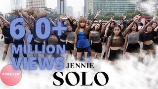KPOP IN PUBLIC BLACKPINK JENNIE SOLO DANCE COVER in PUBLIC INDONESIA