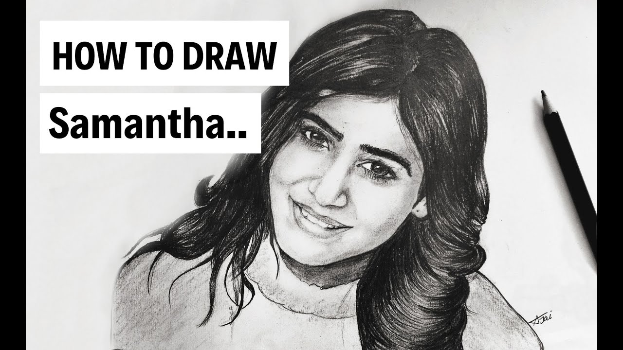 Samantha pencil shading