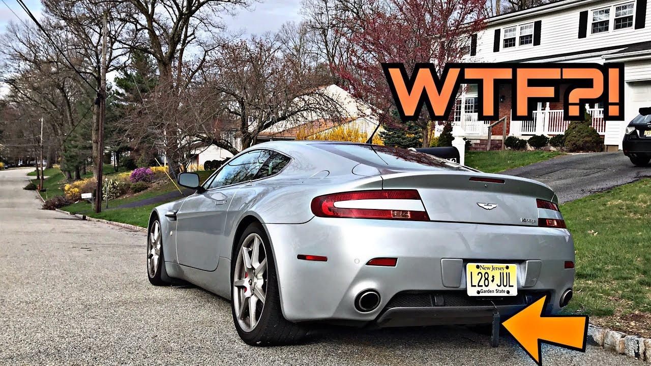 I Have No Idea How To Fix My Aston Martin V Vantage HELP ME YouTube - Aston martin near me