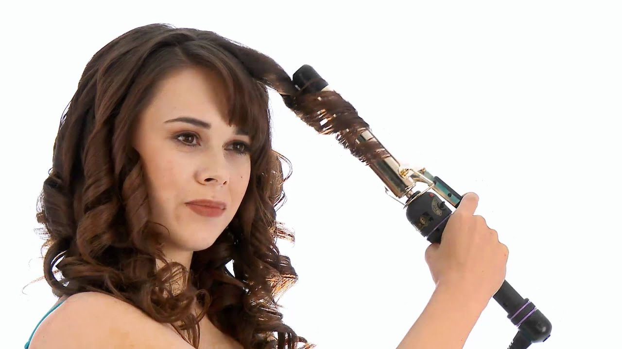 Hot Tools Curling Iron Youtube