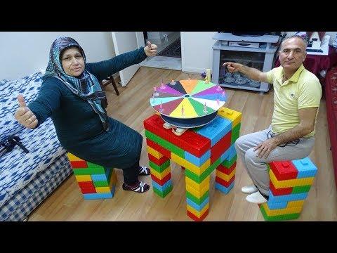 Lezzet ÇARKI, SÜRPRİZ Ayşe Çok SEVDİ BUNLARI,Toy table set Ayşe pilsan with toys very happy