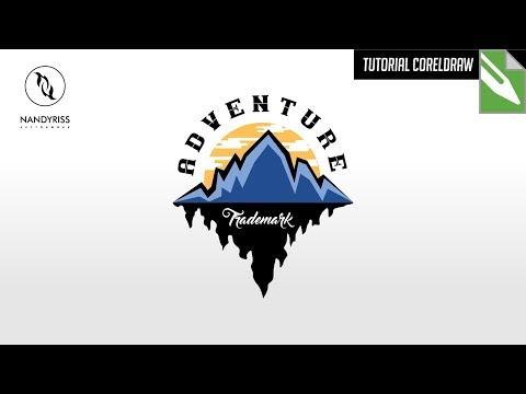 Belajar membuat logo di Coreldraw.