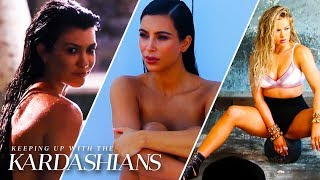 Most Revealing Kardashian Photoshoots | KUWTK | E!