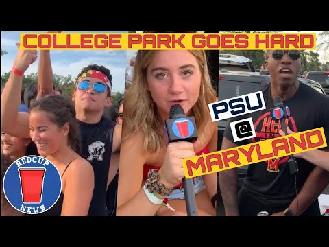 Maryland Tailgate Interviews - COLLEGE PARK RAGES