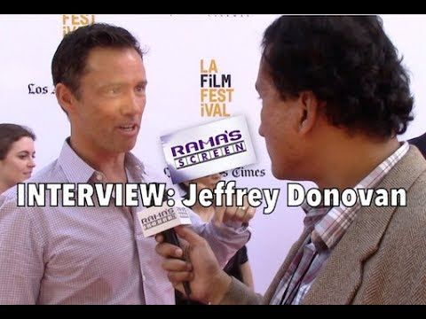 My #LAFF2017 Red Carpet Interview with Jeffrey Donovan | 'SHOT CALLER'
