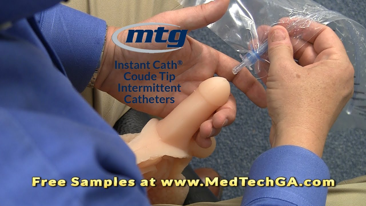 Video For How To Use Instant Cath Coude Urinary Catheters