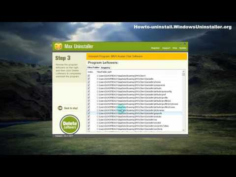 Uninstall IMVU Avatar Chat Software With Convenience