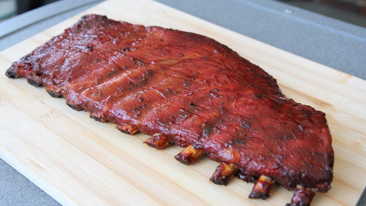 Grilled pork side ribs recipe
