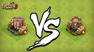 INACREDITÁVEL! MULTIMORTEIRO É MAIS FRACO QUE O MORTEIRO? CLASH OF CLANS