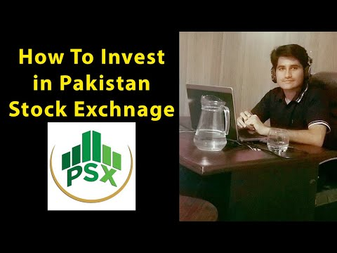 learn how to invest Pakistan stock exchange intoduction - 1