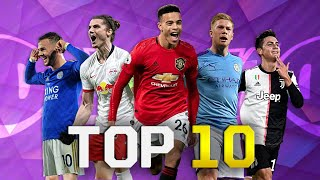 Top 10 Distance Shot Takers In Football 2020