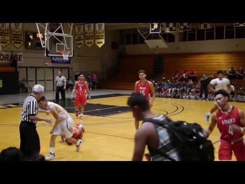 OIA Boys Basketball - McKinley vs Kahuku - 1st Half 1-17-17 | click2ED videos