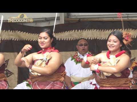 Polyfest 2018 - Tonga Stage:  Otahuhu College Tau'olunga