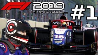 F1 2019 Początek Kariery w F2 #1