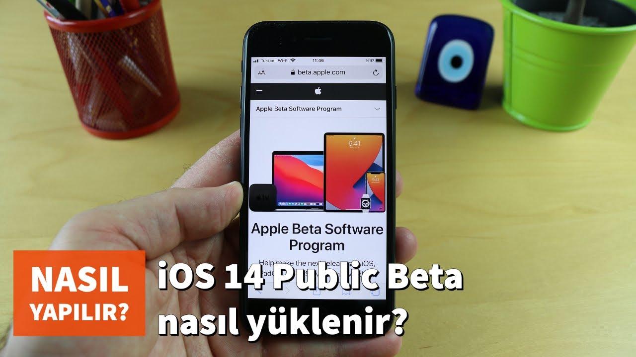 iOS Beta nasıl yüklenir?