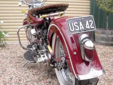 harley davidson 1942 wla youtube. Black Bedroom Furniture Sets. Home Design Ideas