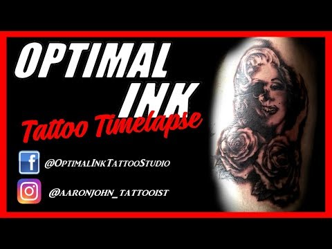 Marilyn Monroe Portrait Tattoo - RIB TATTOO - Aaron John Tattooist   OPTIMAL INK   ( Tupac   2pac )