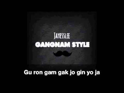Jayesslee - Gangnam Style (Studio Version) - Lyric Video