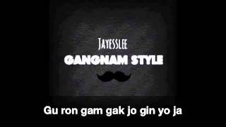 Jayesslee - Gangnam Style (Studio Version) - Lyrics Video