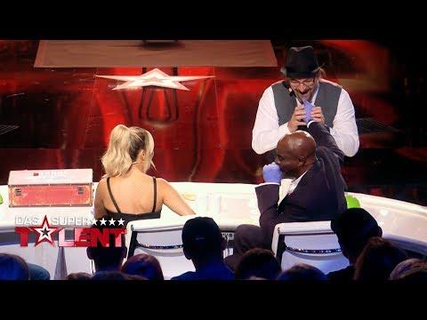Eklig! Plötzlich steckt Bruces Finger in seiner Nase | Das Supertalent 2018 | Sendung vom 20.10.2018