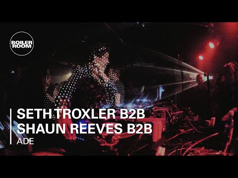 Seth Troxler B2B Shaun Reeves B2B Ryan Crosson Boiler Room DJ Set at ADE
