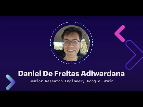 Google's Meena: Open Dialog Systems | Daniel De Freitas Adiwardana