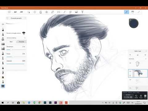 Game of Thrones - Jon Snow time-lapse sketch thumbnail