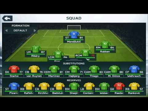 FIFA 14 For IOS Review: Manager Mode