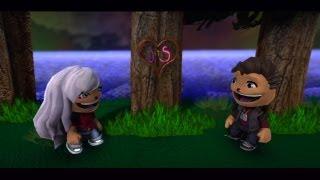 LittleBigPlanet 2 - Drifting Hearts - Love Story LBP2 Animation