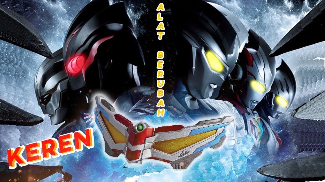 7 Alat Berubah Ultraman Terkeren !