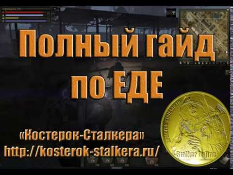 Полный гайд по еде в игре Сталкер Онлайн (Stalker Online).