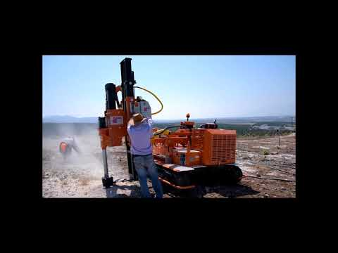 AGIVA - PAUSELLI PILE DRIVER MACHINE MOD 900 IN TURKEY