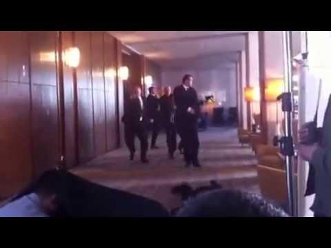 SKA Team - The November Man shooting scene