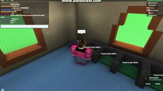 How to delete admin pads on roblox, in admin house.