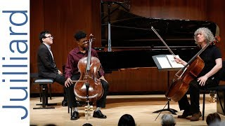 Sterling Elliott: Schumann's Cello Concerto | Juilliard Steven Isserlis Cello Master Class