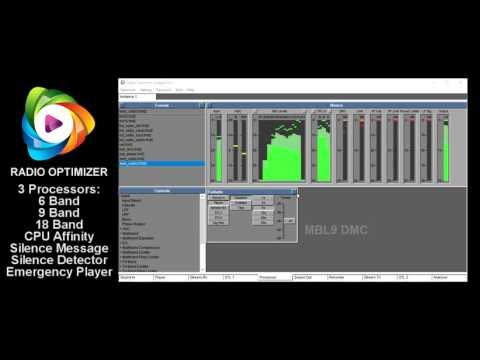 RADIO OPTIMIZER 7.0.3 Sound Processing Software for AM FM DAB+ Web and TV
