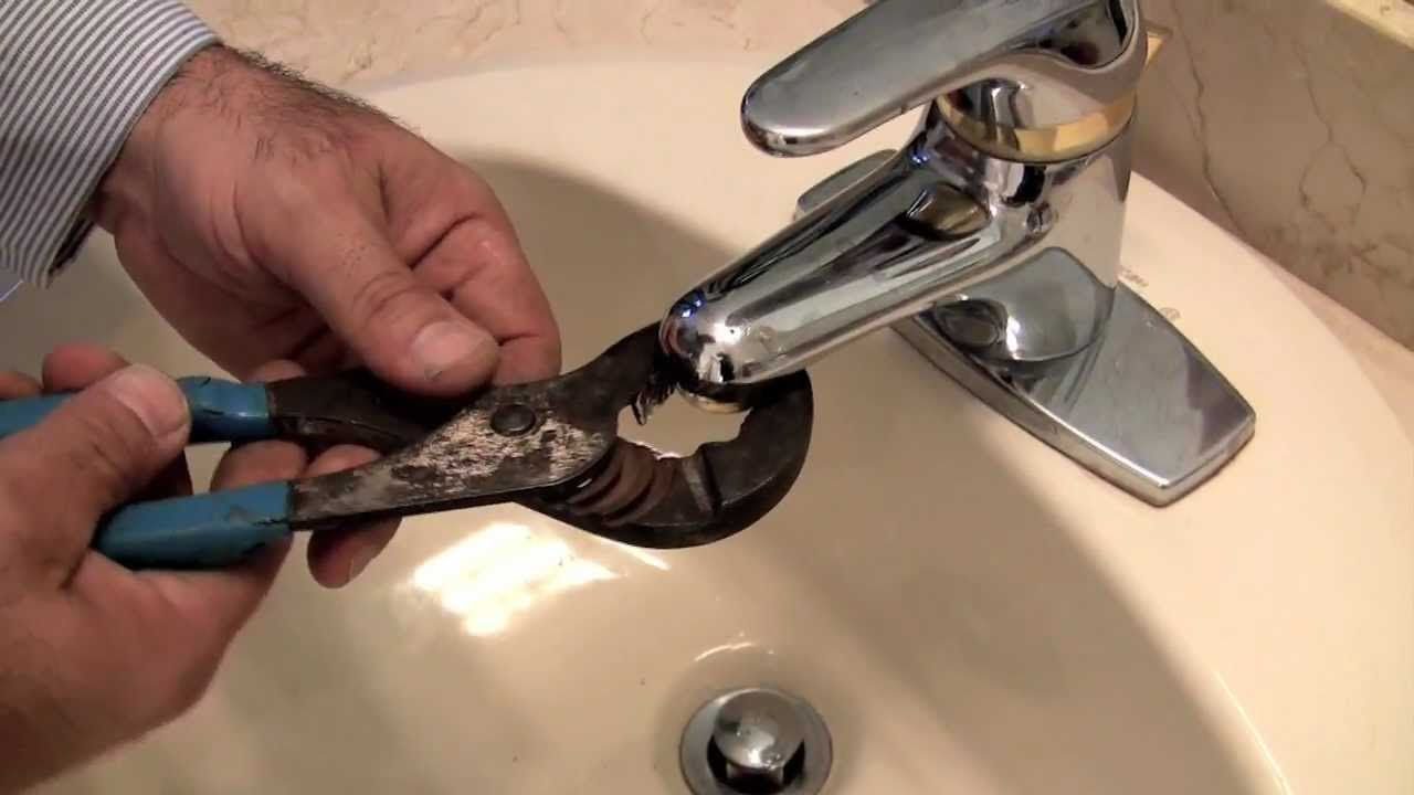Bathroom Faucet No Water Pressure how to fix a faucet: low water pressure - youtube