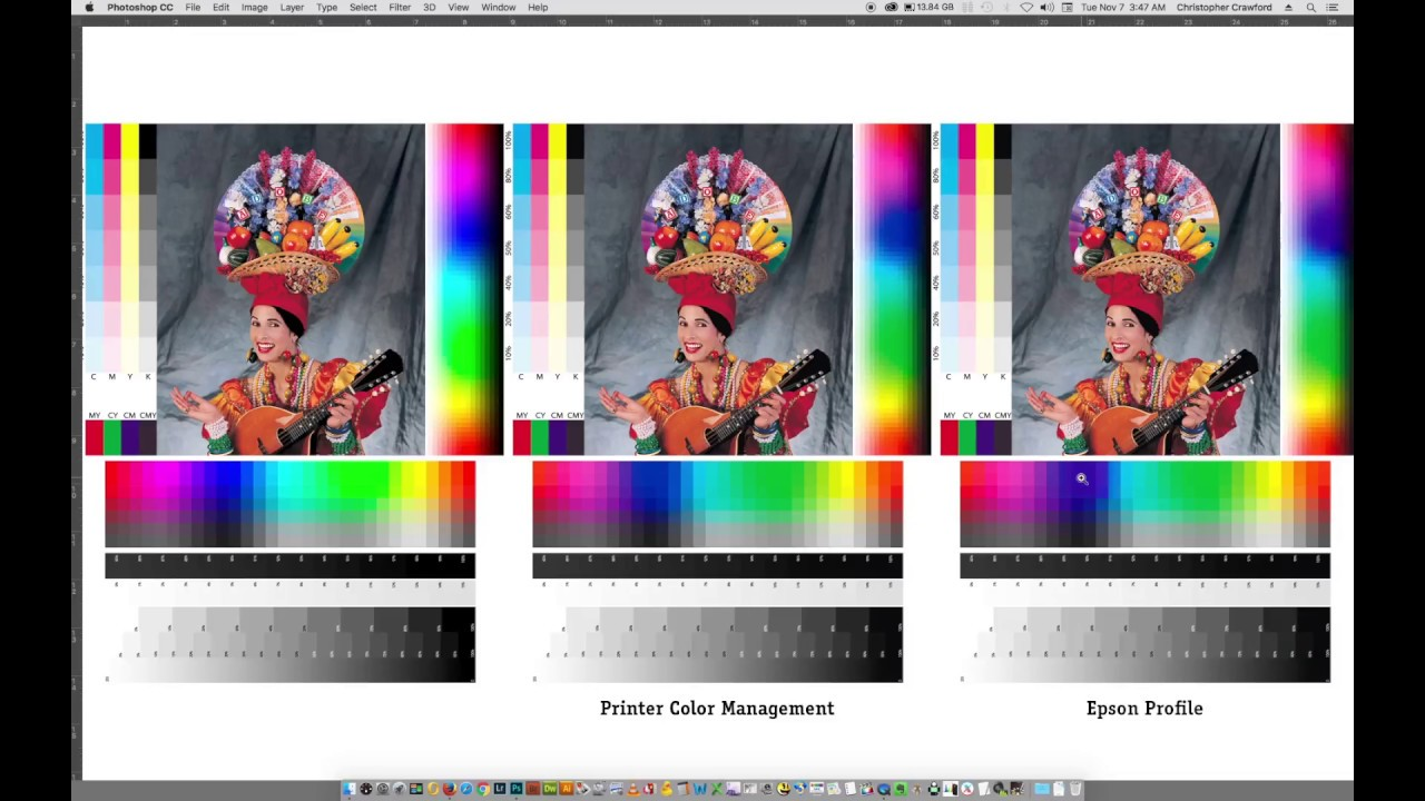 Simplified Color Printing on an Epson Printer Using Printer Managed Color