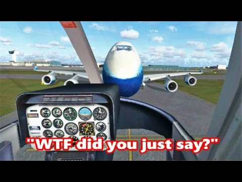 Weird ATC Conversations at JFK Airport (FSX Multiplayer Trolling)