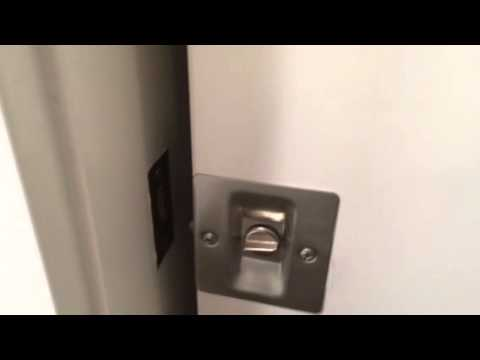 Pocket Door Lock Youtube