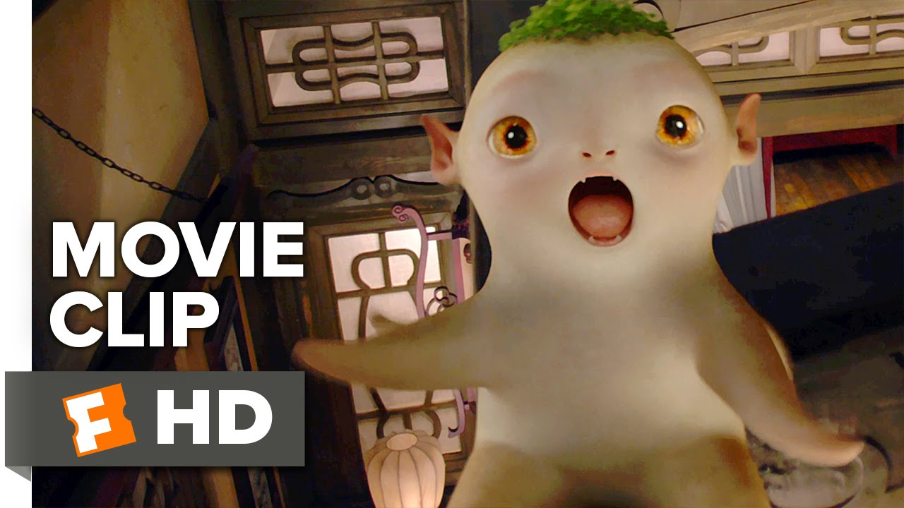 Monster Hunt Movie CLIP Monster S First Steps 2016 Raman Hui Movie HD