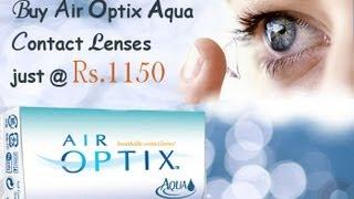 Buy Ciba vision Air optix aqua contact lenses at cheapest price