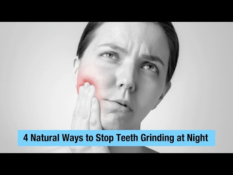 4 Natural Ways to Stop Teeth Grinding at Night