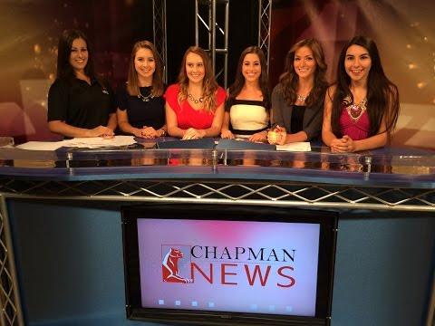 Chapman News: October 10, 2014