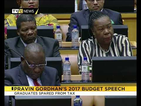 Pravin Gordhan's 2017 budget speech|  Business Zone| SA Economy
